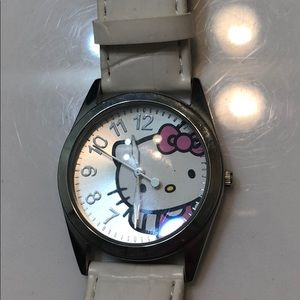 Accessories - White hello kitty women's watch